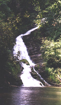 Three Creeks Waterfall